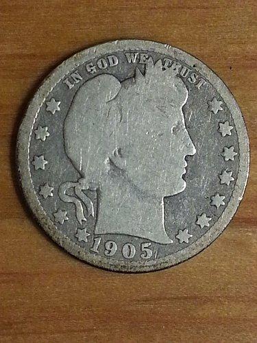 1905-O Barber Quarter