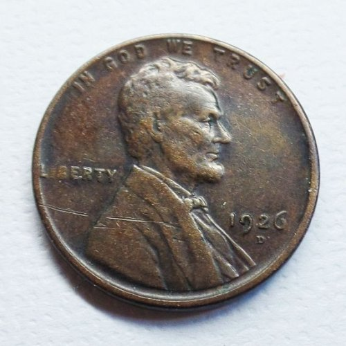1926 D Lincoln Wheat Cent ...