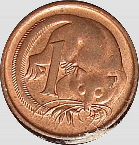 Australia, 1 Cent, 1981, AU 55, (Item 62)