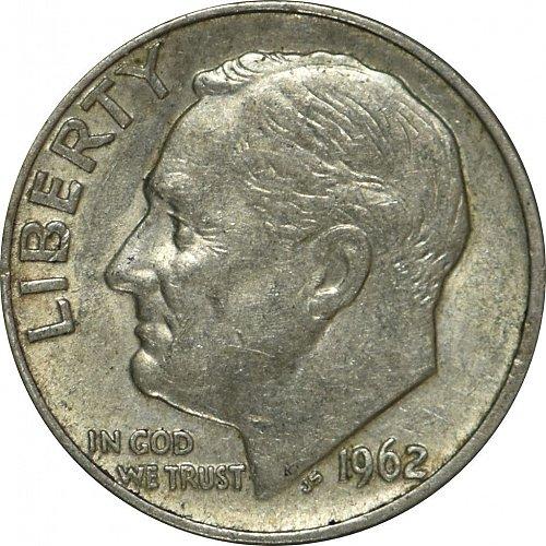 1962 D Roosevelt Dime,  (Item 71)