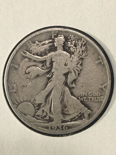 1936 P Walking Liberty