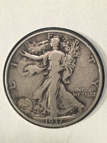 1937 P Walking Liberty