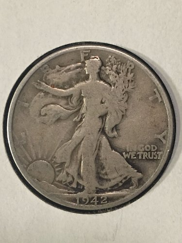 1942 D Walking Liberty
