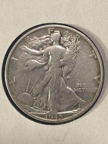 1945 S Walking Liberty