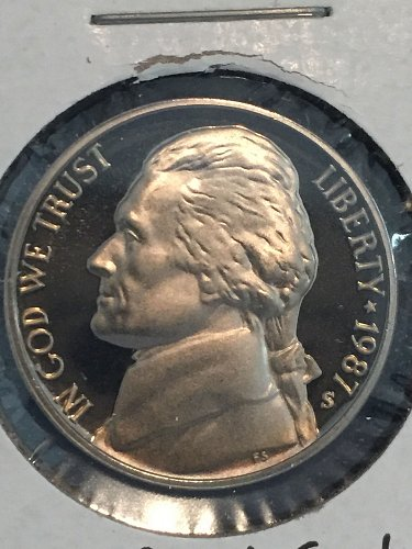 1987 S Jefferson Nickel