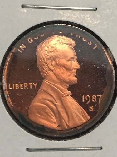 1987 S Lincoln Memorial Cent