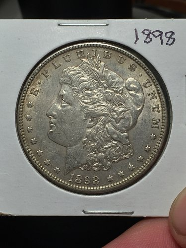 1898 P Morgan Dollar