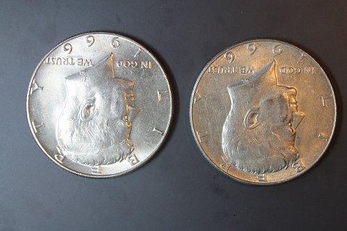 1966 P Kennedy Half Dollars