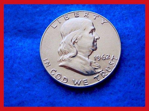 1962-D  Franklin Half Dollar •••(#1520)