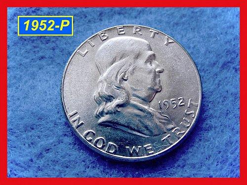 1952-P  Franklin Half Dollar –  –  (#1517)
