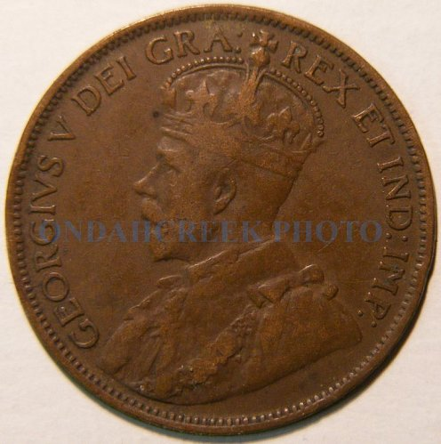 1916 Canada Large Cent KM #21 Fine