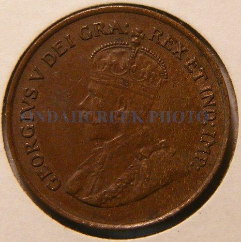 1920 Canada Small Cent KM #28 XF