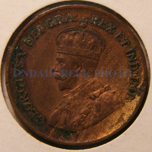1928 Canada Small Cent KM #28 XF Woody