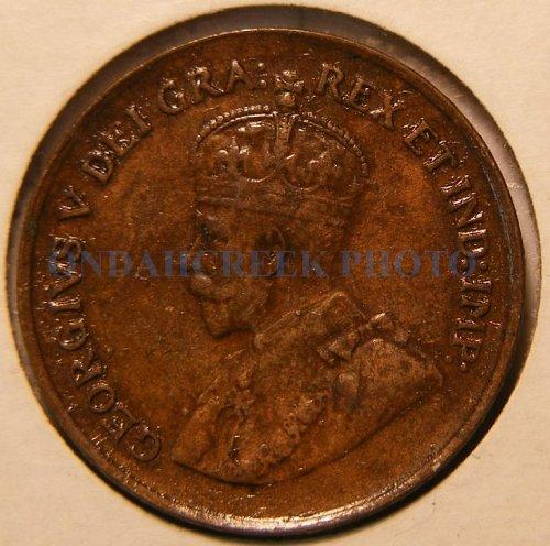 1932 Canada Small Cent KM #28 XF