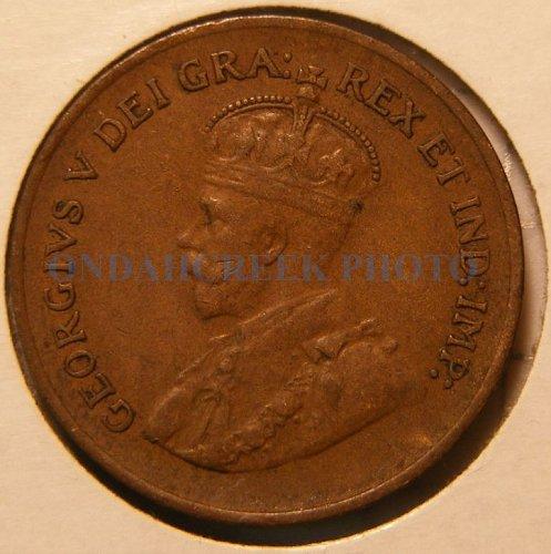1933 Canada Small Cent KM #28 XF