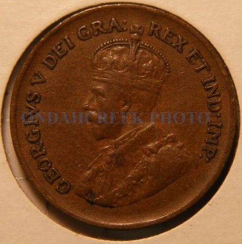 1936 Canada Small Cent KM #28 Very Fine
