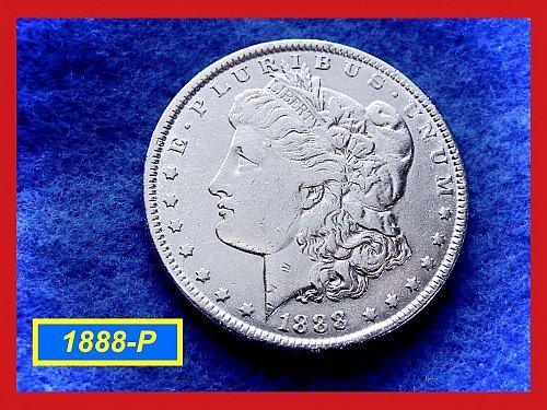 "1888-P Morgan Dollar ••• Strong Design Details  •  ""VF-35""  (#5250)"