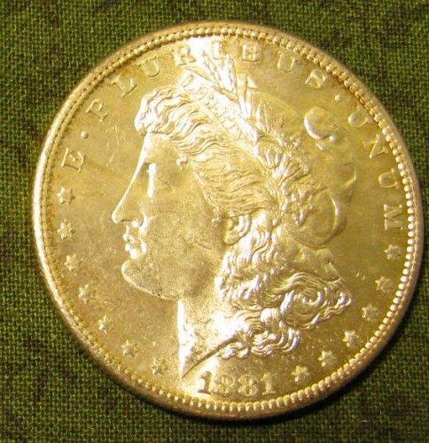 1881-S Morgan Dollar BU Gem#52
