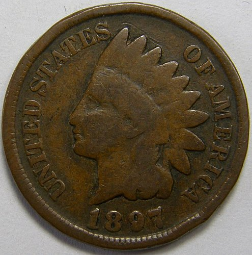 1897 P Indian Head Cent #6