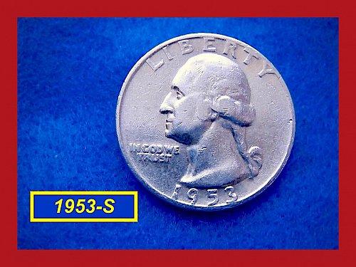 "1953-S   ""VF-20"" Washington Quarter ••• (#2417)"