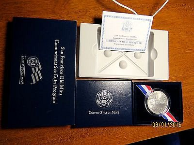 2006-S SAN FRANCISCO OLD MINT COMMEMORATIVE UNCIRCULATED SILVER DOLLAR