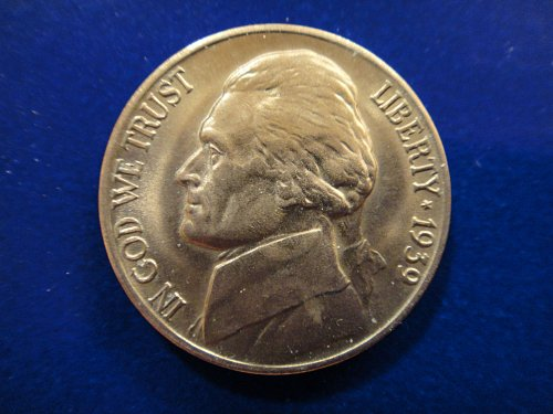 1939-D Type 1 Jefferson Nickel MS-65 (GEM) NFS Beautiful Creamy LUSTER!
