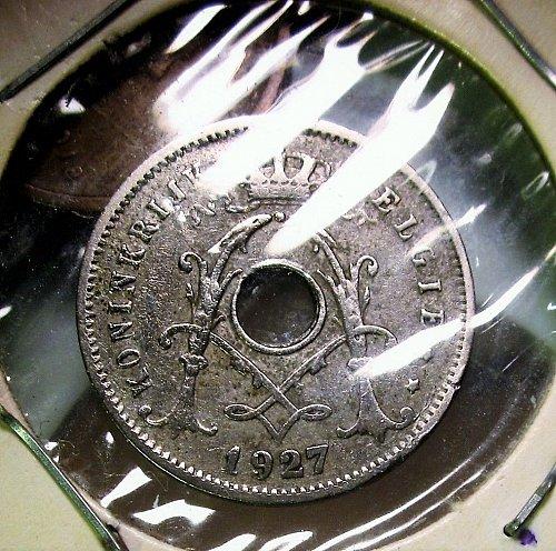 Belgium 1927 5 Centimes
