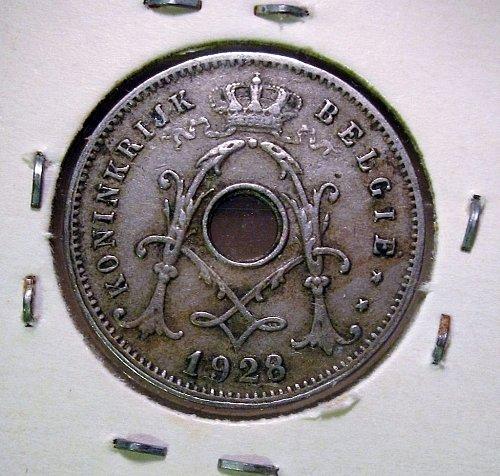 Belgium 1928 5 Centimes