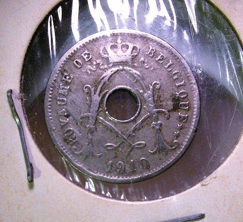 Belgium 1910 5 Centime
