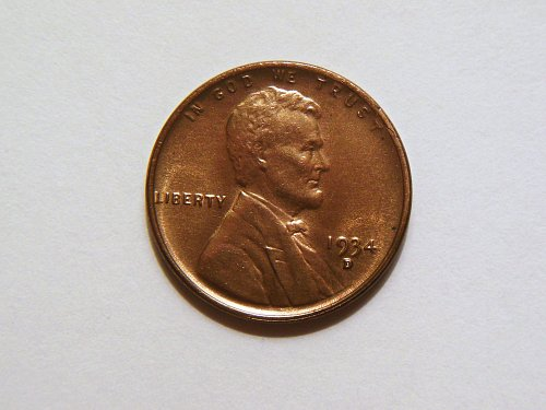 1934-D Lincoln Wheat Cent