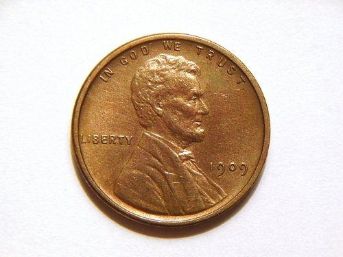 1909-P VDB Lincoln Wheat Cent
