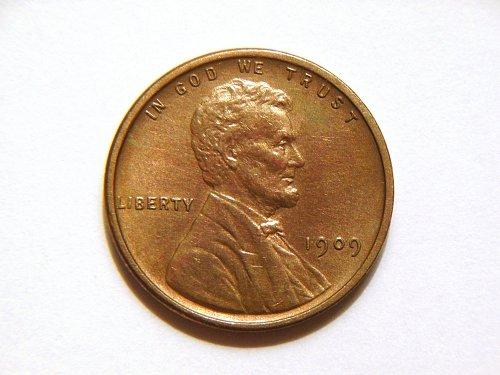 1909-P VDB Lincoln Wheat Cent
