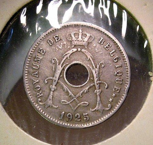 Belgium 1925 5 Centimes
