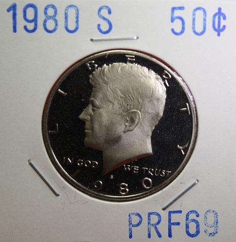 1980 S Kennedy Half Dollar