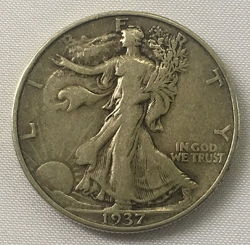 1937 P Walking Liberty Half Dollar