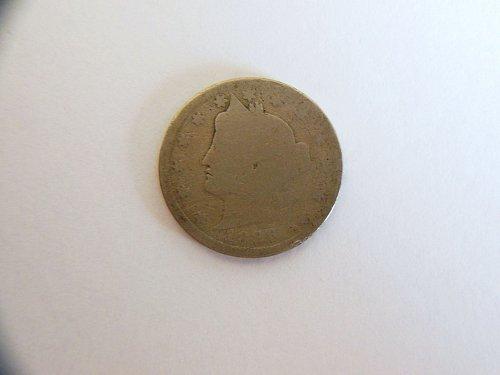 1886-P Liberty V Nickel