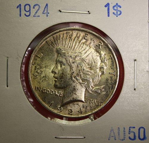 1924 Peace $1