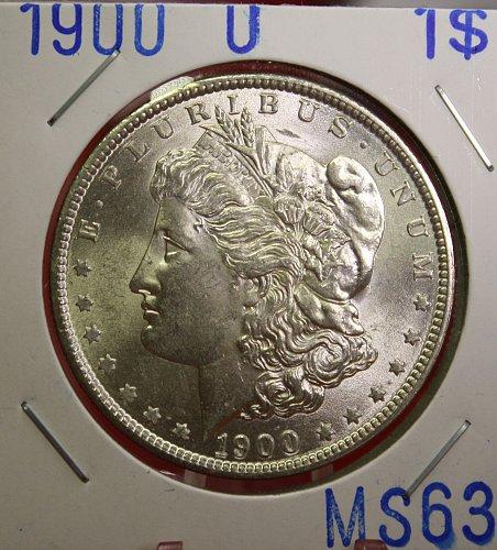 1900 O Morgan $1