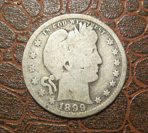 1899 Barber Quarter Dollar,