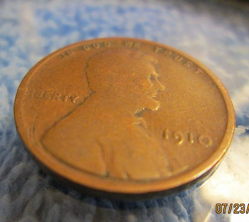 1910 Lincoln Wheat Cent Small Cent