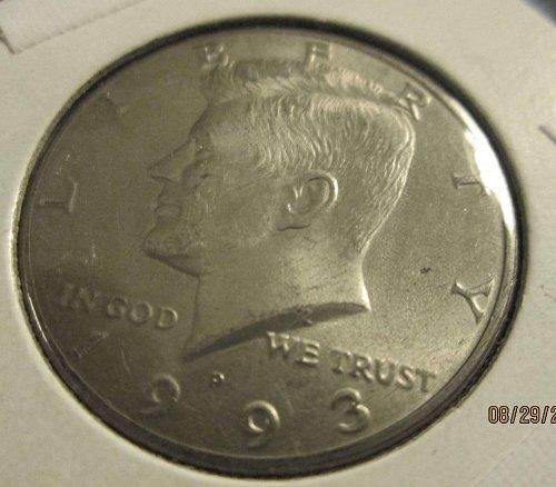 1993 P John F Kennedy Half Dollar