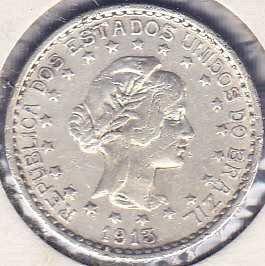 Brazil 500 Reis 1913