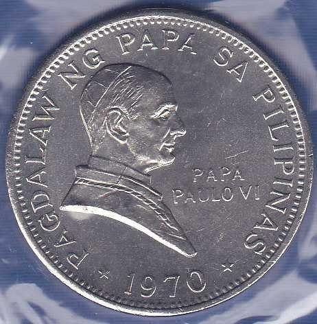 Philippines 1 Peso 1970