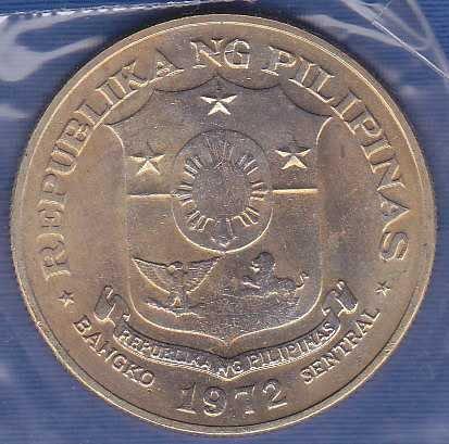 Philippines 1 Peso 1972
