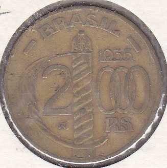 Brazil 2000 Reis 1936