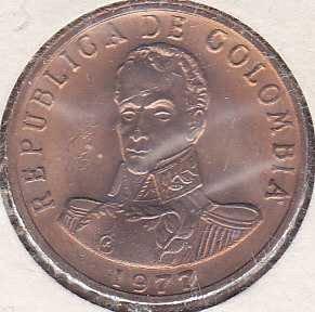 Colombia 2 Pesos 1977