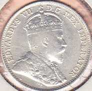 Canadian 5 Cents 1907