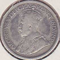 Canadian 10 Cents 1914