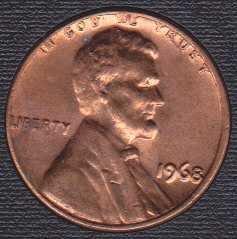 1968 P Lincoln Memorial Cent