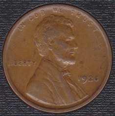 1920 P Lincoln Wheat Cent